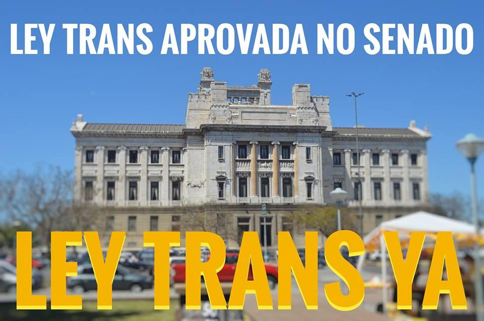 Ley Trans aprovada