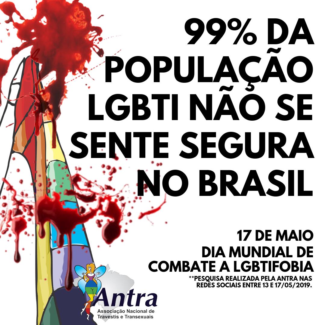 99% DOS LGBTI NÃO SE SENTEM SEGUROS NO BRASIL (1)